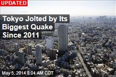 Strong Quake Jolts Tokyo