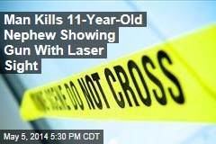 Man Kills 11-Year-Old Nephew Showing Gun With Laser Sight