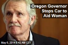 Oregon Governor Stops Car to Aid Woman