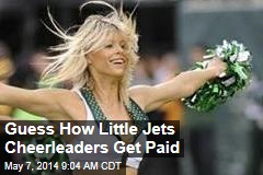 Guess How Little Jets Cheerleaders Get Paid