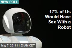 17% of Us Would Have Sex With a Robot