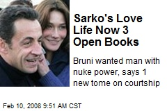 Sarko's Love Life Now 3 Open Books