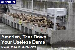 America, Tear Down Your Useless Dams