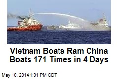 Vietnam Boats Ram China Boats 171 Times in 4 Days
