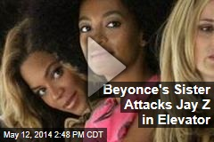 Beyonce's Sister Attacks Jay Z in Elevator