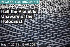 Half the Planet Is Unaware of the Holocaust