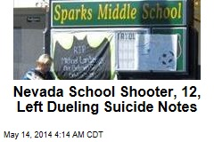 School Shooter, 12, Left 2 Suicide Notes