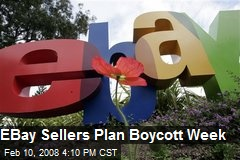 EBay Sellers Plan Boycott Week