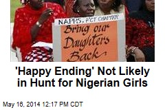 'Happy Ending' Not Likely in Hunt for Nigerian Girls