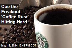 Cue the Freakout: 'Coffee Rust' Hits Producers Hard