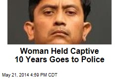 Woman Held Captive 10 Years Goes to Police