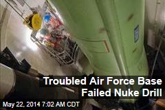 Troubled Air Force Base Failed Nuke Drill