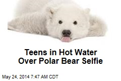 Teens in Hot Water Over Polar Bear Selfie