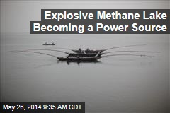 Explosive Methane Lake Becoming a Power Source