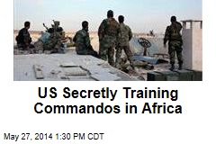 US Secretly Training Commandos in Africa