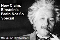 Study: Einstein's Brain Not So Special