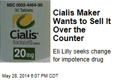 Cialis Maker Wants to Sell It Over the Counter