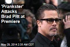 Brad Pitt Attacked at Hollywood Premiere