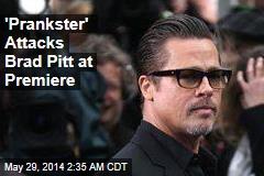 Brad Pitt Attacked at Hollywood Premiere