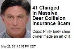 41 Charged in Massive Deer Collision Insurance Scam