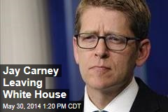 Jay Carney Leaving White House