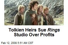 Tolkien Heirs Sue Rings Studio Over Profits