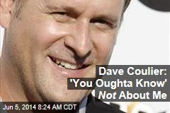 Dave Coulier: 'You Oughta Know' Is Not About Me