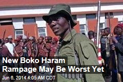 Up to 500 Dead in Boko Haram Raids