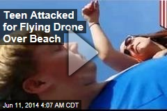Teen Attacked for Flying Drone Over Beach