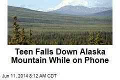 Teen Falls Down Alaska Mountain While on Phone