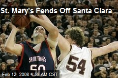 St. Mary's Fends Off Santa Clara