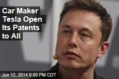 Car Maker Tesla Open Its Patents to All