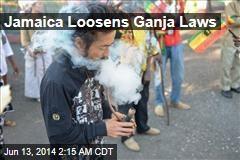 Jamaica Loosens Ganja Laws