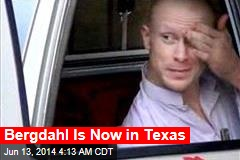 Bergdahl Arrives Back in US