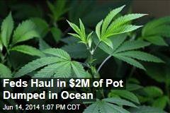 Feds Haul in $2M of Pot Dumped in Ocean