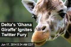 Delta's 'Ghana Giraffe' Ignites Twitter Fury