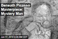 Beneath Picasso Masterpiece: Mystery Man