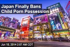 Japan Finally Bans Child Porn Possession