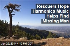 Rescuers Hope Harmonica Music Helps Find Missing Man