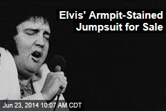Elvis' Armpit-Stained Jumpsuit for Sale
