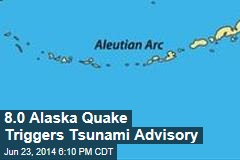 Alaska Earthquake Triggers Tsunami Warning