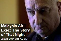 Malaysia Air Exec: The Story of That Night