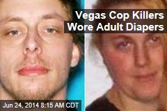 Vegas Cop Killers Wore Adult Diapers
