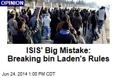 ISIS' Big Mistake: Breaking Bin Laden's Rules