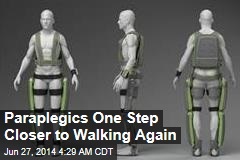 FDA Clears Walking Exoskeleton for Paraplegics