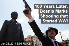 100 Years Later, Bosnia Marks Shooting that Started WWI