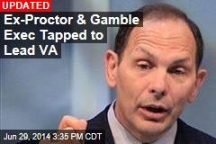 Obama Picks Former Exec to Lead VA