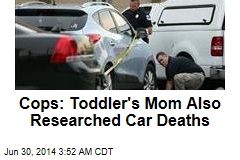 Cops: Toddler's Mom Also Researched Car Deaths