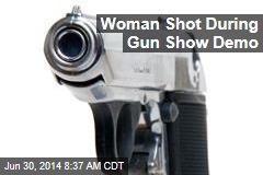Woman Shot During Gun Show Demo