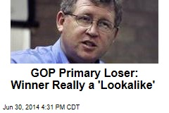 Primary Loser Says Winner Is a Body-Double